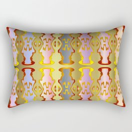Pattern by different pairs Rectangular Pillow