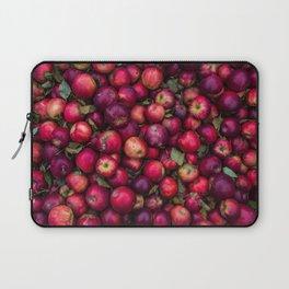 Red summer apples pattern Laptop Sleeve