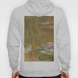 The Water Lily Pond by Claude Monet Hoody