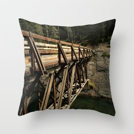 To Cross Again Throw Pillow