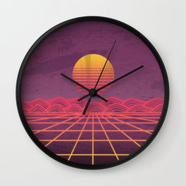 Neon Dream's  Wall Clock
