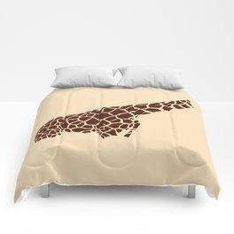 The Savanna Series 001: Giraffe Comforters