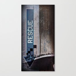 No Rescue Canvas Print