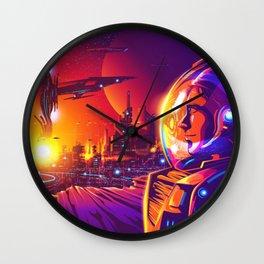 Far future human colonization Wall Clock
