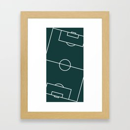 Soccer I Framed Art Print