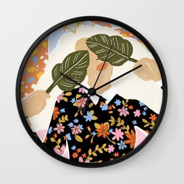 I Can't See You Wall Clock