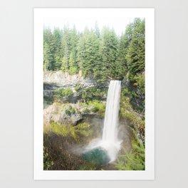 Brandy and Wine Waterfall Art Print