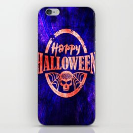 Happy, Happy Halloween! iPhone Skin