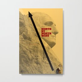 Hitchcock: North by Northwest Metal Print