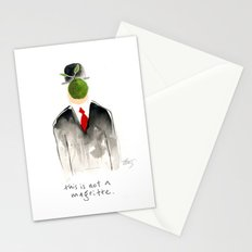 this is not a magritte Stationery Cards