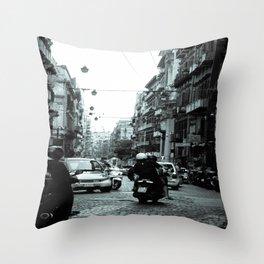 Naples, Spanish Quarter 1 Throw Pillow