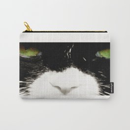 Tuxedo eyes Carry-All Pouch