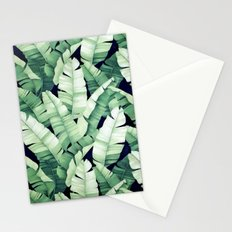 Banana leaves III Stationery Cards