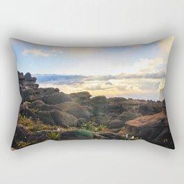 Sunset at roraima Rectangular Pillow