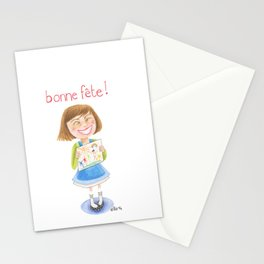 Bonne fête maman! Happy Mother'sday! Stationery Cards