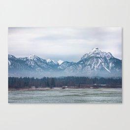 Bavrian Alps Canvas Print