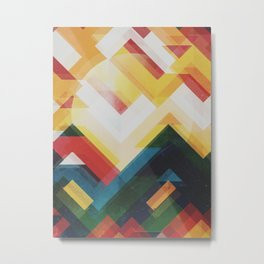 Mountain of energy Metal Print