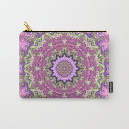 Vibrant Fractal Kaleidoscope Carry-All Pouch