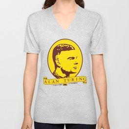 Alan Turing Unisex V-Neck