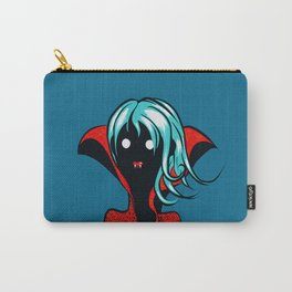 Funny Vampire Girl Character Carry-All Pouch