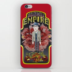 Nelson Van Alden Gin iPhone & iPod Skin