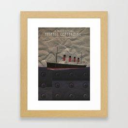 Titanic Centennial Framed Art Print