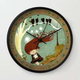 KidNappiNg a liTtle sTAR Wall Clock