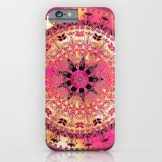 Raspberry Mandala Slim Case iPhone 6s