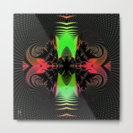 Magnetic Disturbance Metal Print