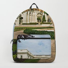 Newport Mansions, Rhode Island - Rosecliff - Original Great Gatsby Mansion by Jeanpaul Ferro Backpack
