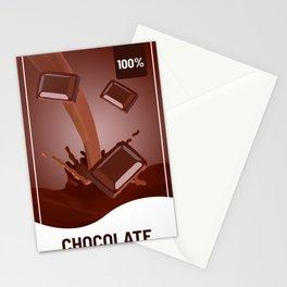 Chocolate Choco Cocoa Cacao Milkshake Milk Fresh Stationery Cards