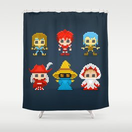 Select Your Job... Shower Curtain