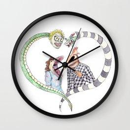 Beetle juice - Adam & Barbara Wall Clock