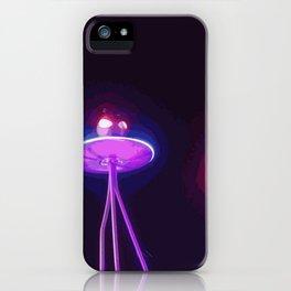 Alien Fresh iPhone Case
