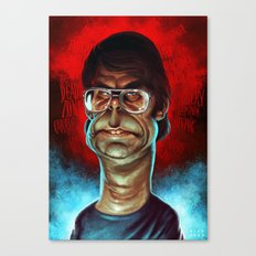 King of Horror Canvas Print