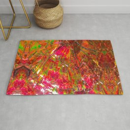 Tropical Sunset Ammolite Rug