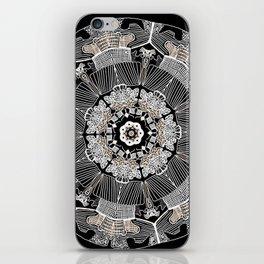 GoldenMandala iPhone Skin