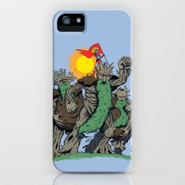 The Planetrees iPhone Case