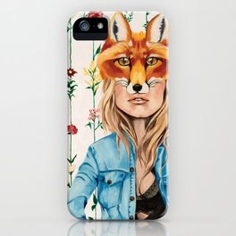 Looking through my own eyes iPhone Case