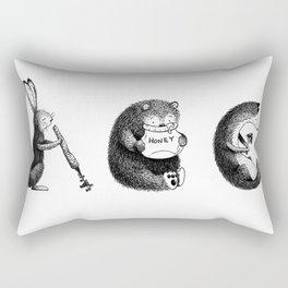 Woodland Animals (ABC) Rectangular Pillow