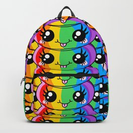 Unicorn Rainbow Poop Backpack