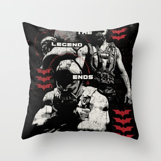 In Ashes Throw Pillow