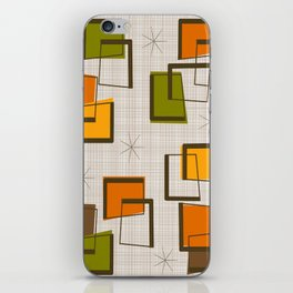 Rectangles and Stars iPhone Skin