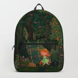 books, friends, lemonade and adventures Backpack