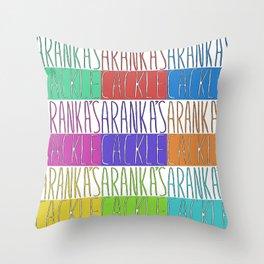 Aranka's Cackle Throw Pillow