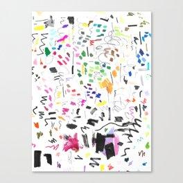 Markings Canvas Print