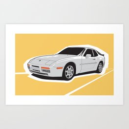 Turbo Driver Art Print