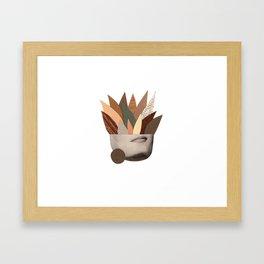 Secretos Framed Art Print