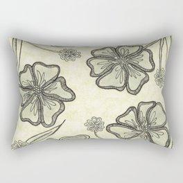 Pansy Perfection Rectangular Pillow
