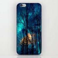 starry night iPhone & iPod Skins featuring starry night by haroulita